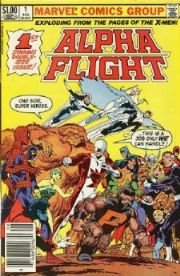 Alpha Flight Comics (1983 Series)